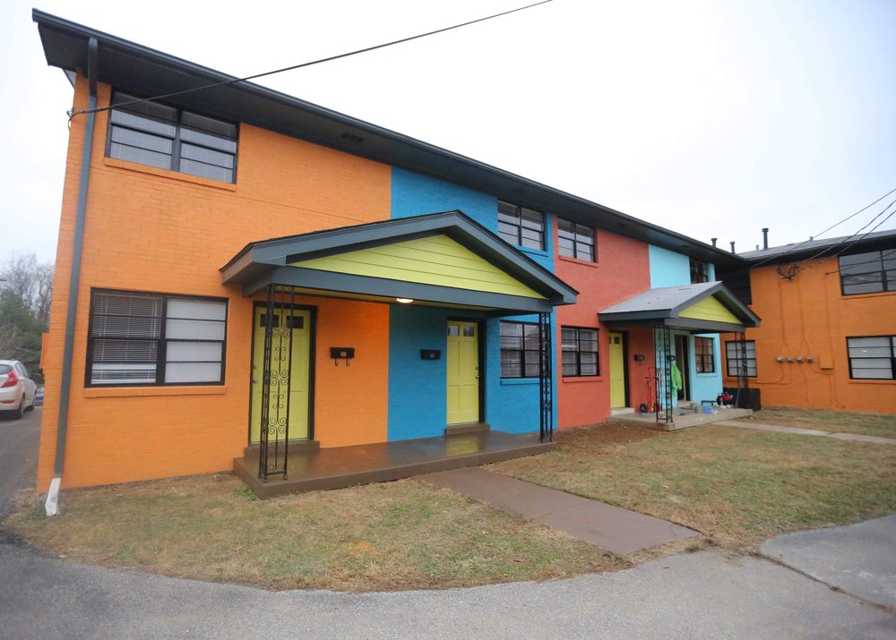 Retro Townhomes -