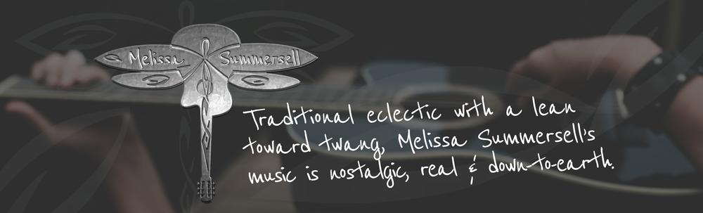 Melissa Summersell Music, Singer, Songwriter