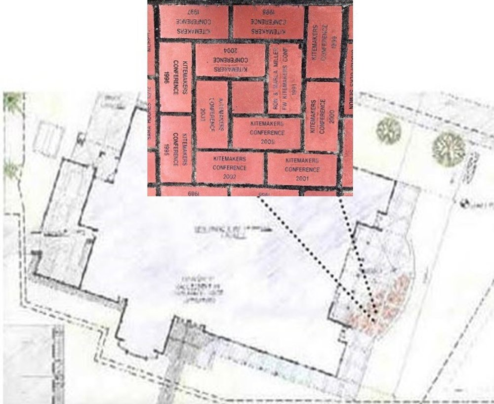 Location of the Pavers: Fort Worden Commons - East Patio