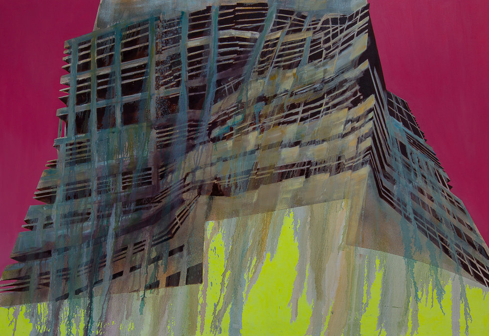 Work in Progress 003 - Winner of the Signature Art Prize for Painting 2015 Luke M Walker