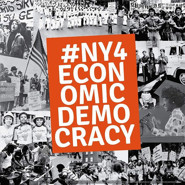 Wake your elected officials up! Share a short video using the hashtag #NY4EconomicDemocracy and tell your government how our economy could work better for NYers of color!