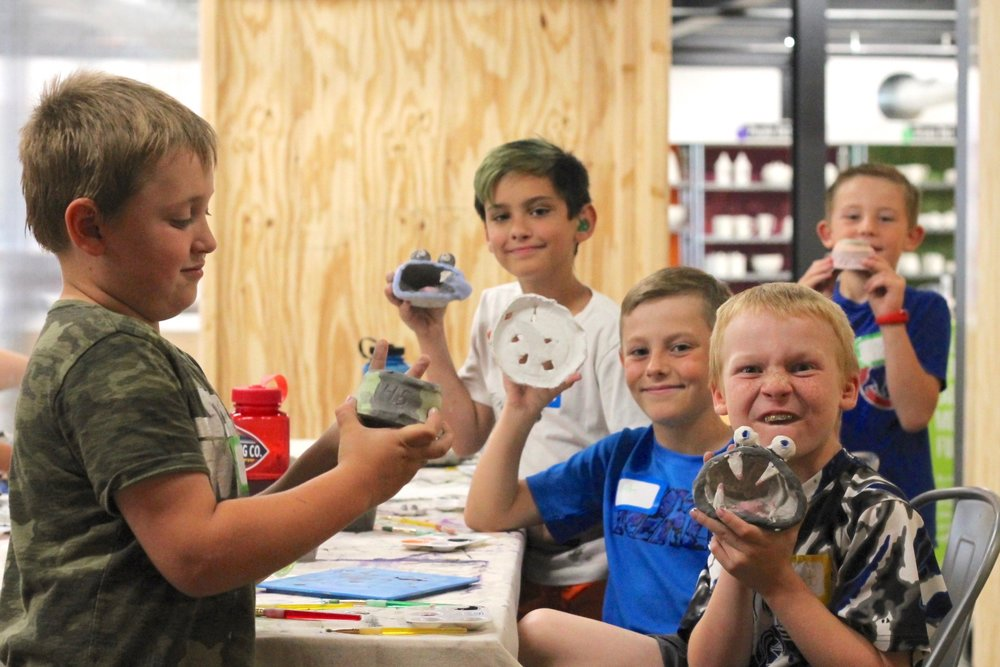 SAL - Art Camp 6-9 boys and their pottery 2.jpg