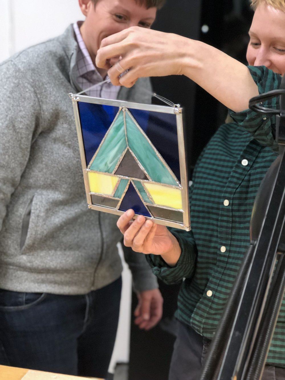 Art Lab - stained glass - admiring project .jpg