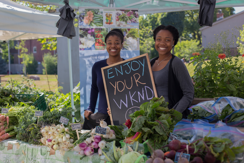 Vendors at The Stop's Farmers' Market at Artscape Wychwood Barns