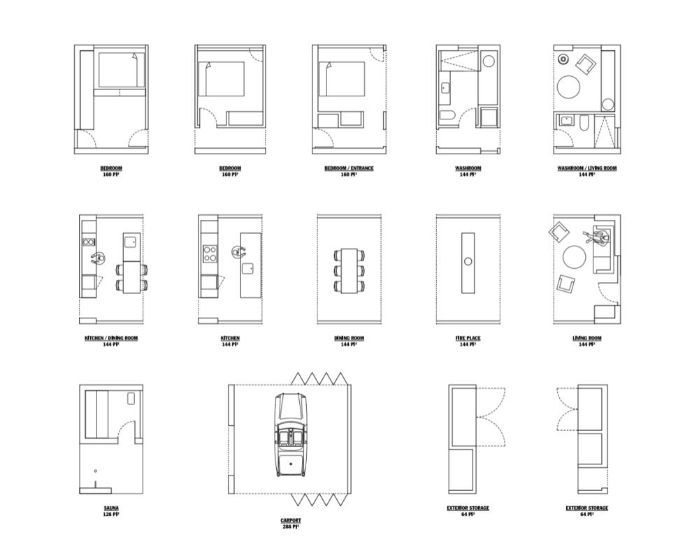 hinterhouse modules