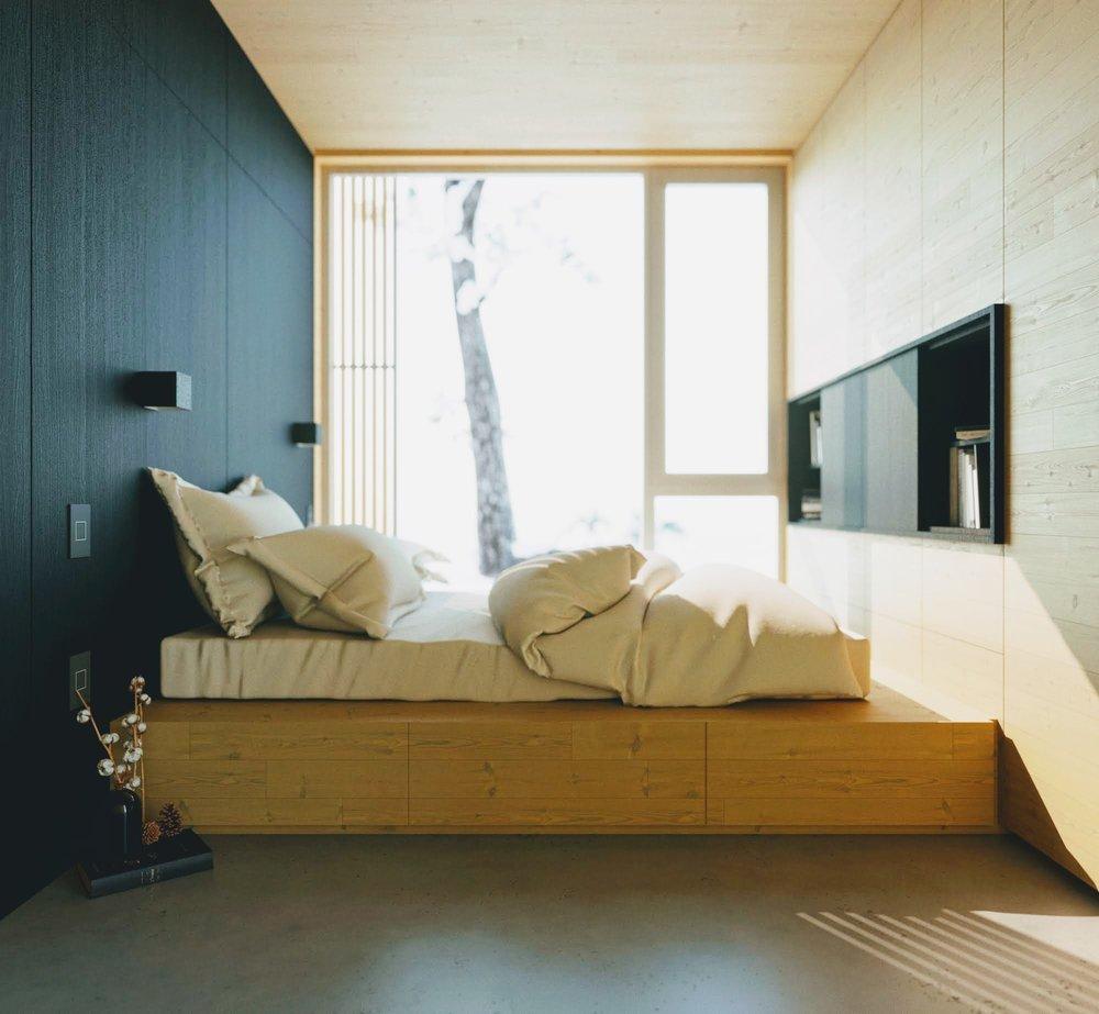 hinterhouse Bedroom