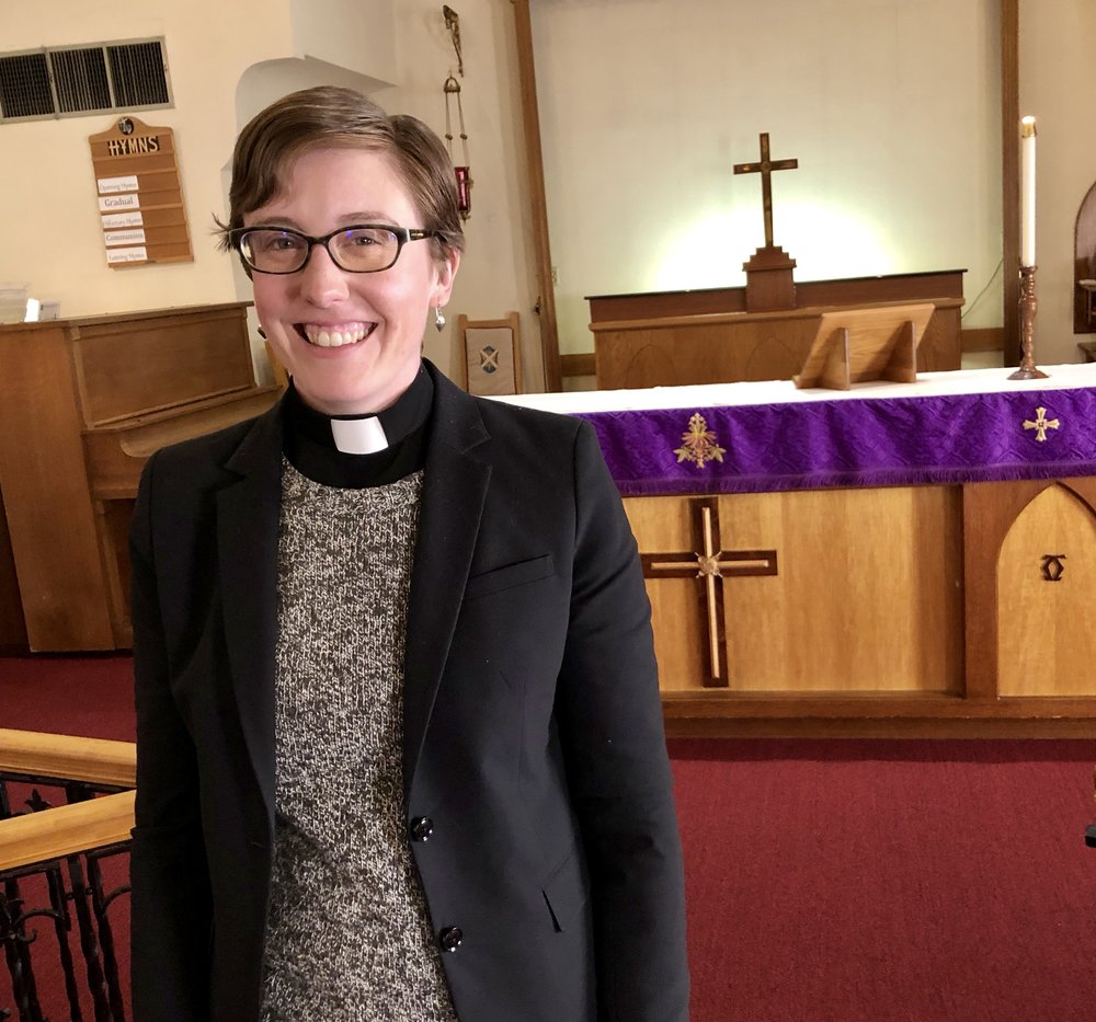 Rev. Katy Shedlock of Audubon Park United Methodist Church and Creators' Table