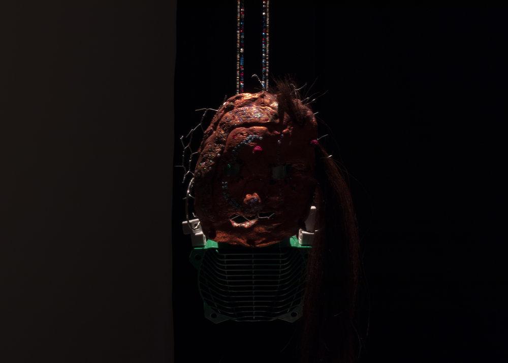 Detail of Riverside Totem