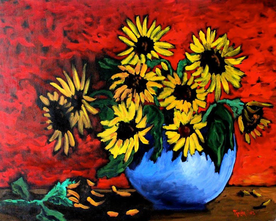 Primary Sun Flowers