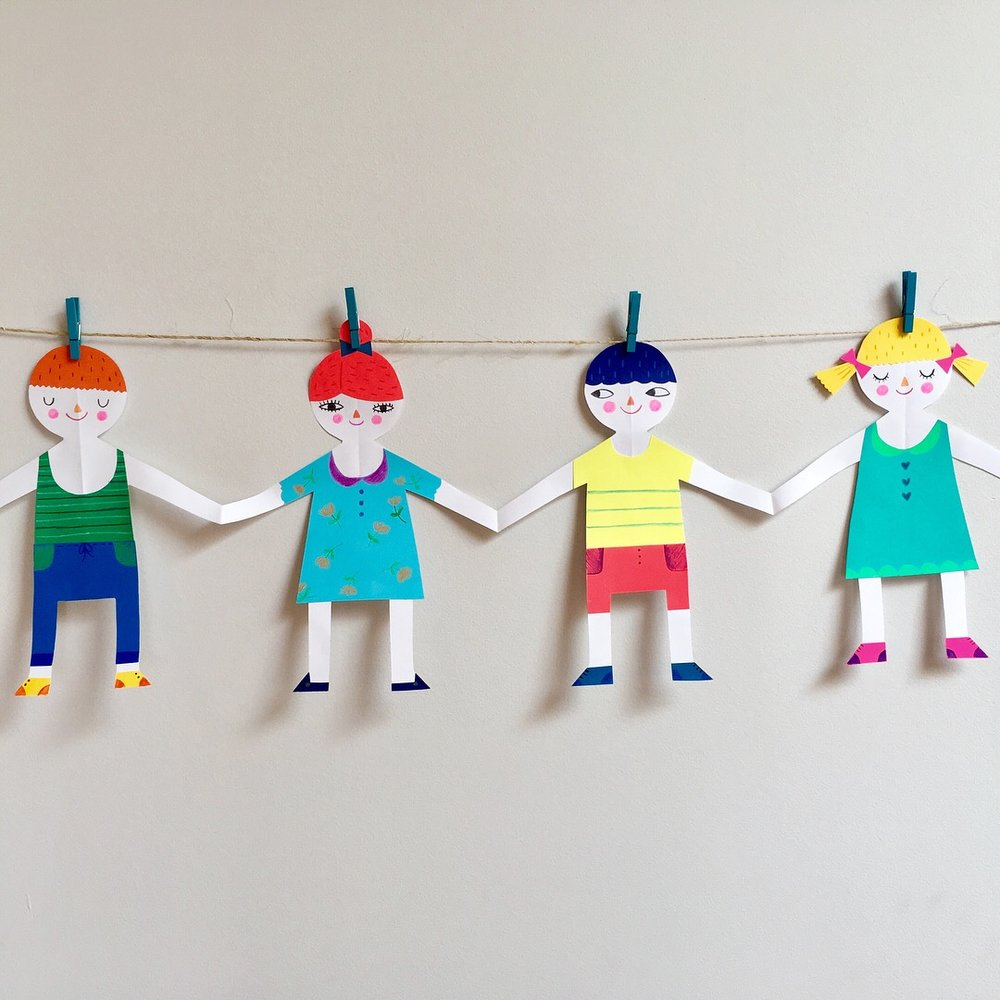 Vanja Kragulj Childrens Garland St. Patrick's Island Art Workshop Calgary
