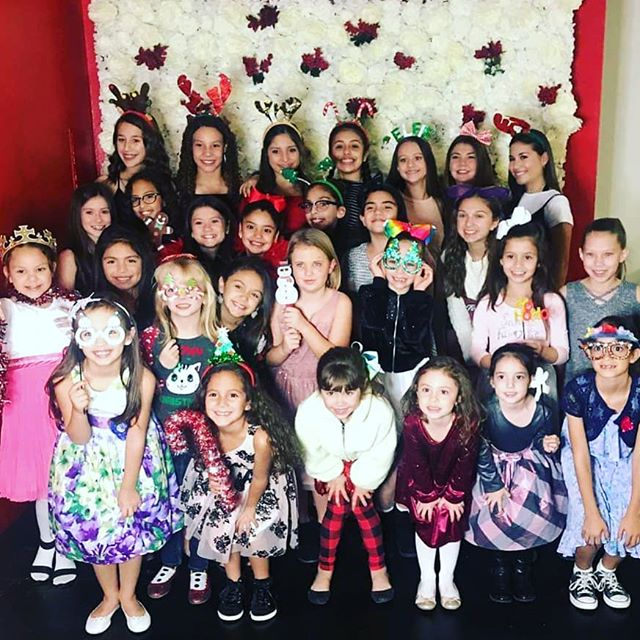 We had the most perfect evening with these incredible girls.  Thank you to all our families for helping make tonight's Christmas party so special.  Next up... Christmas recital! 🎅🎄🎁❤ #KFDChristmas2018