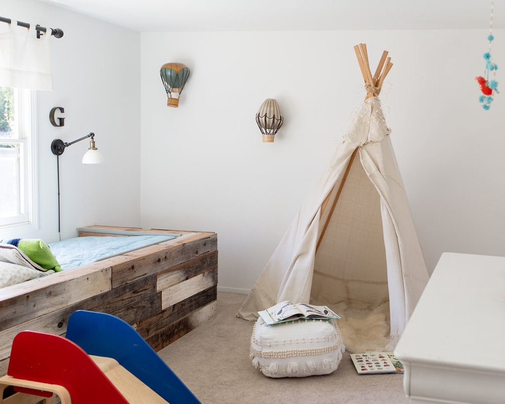 los angeles interior designer casual comfortable kids room