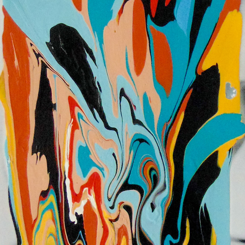 1. You send an artwork image. - Art by Jonni Cheatwood