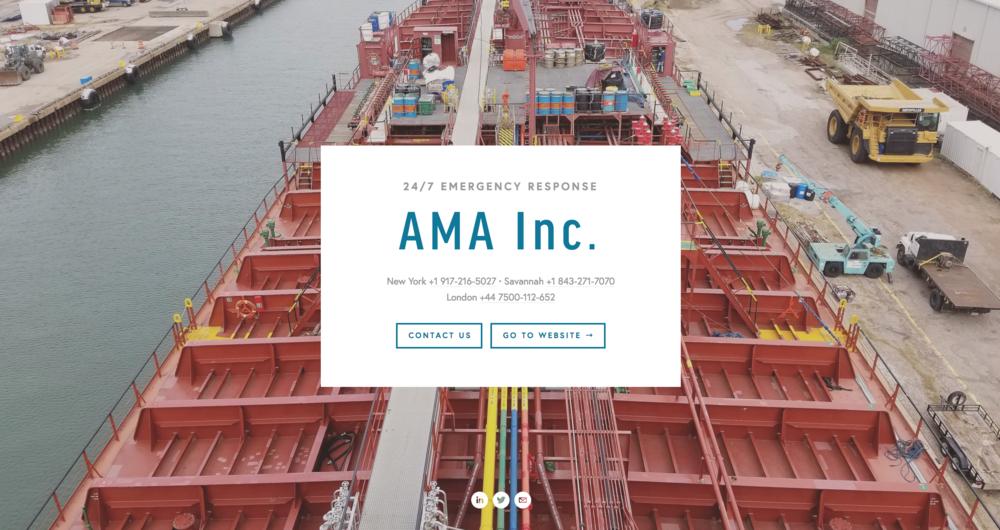 Website Design + Copywriting — AMA Inc.