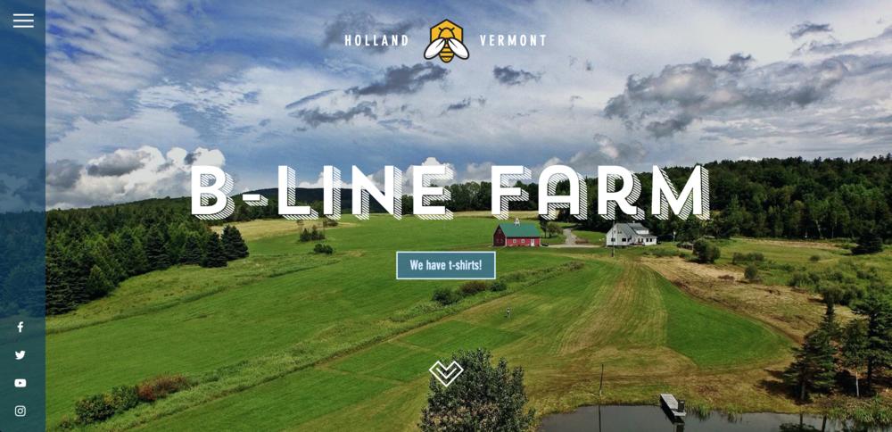Website Design — B-Line Farm