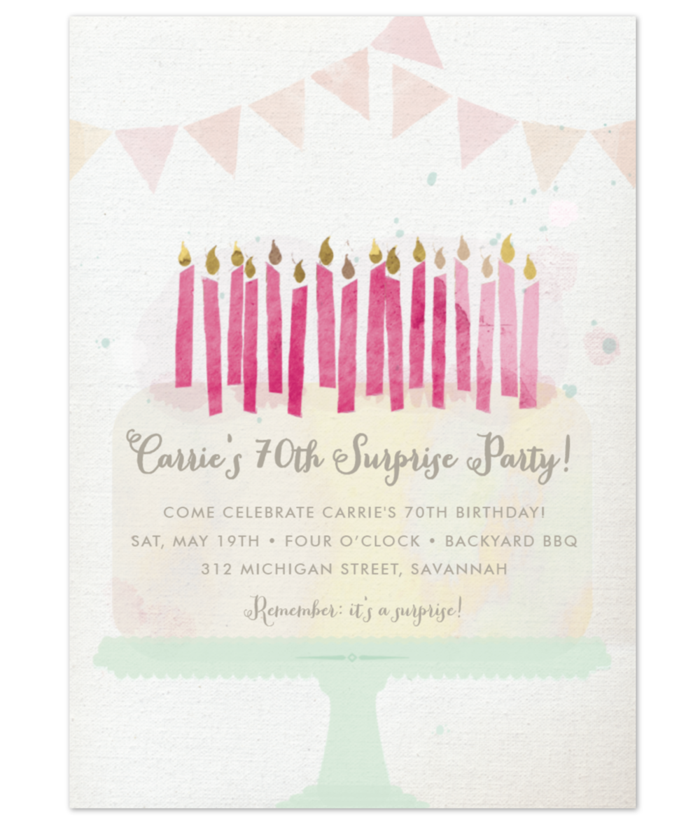 Party Invitation —  personal order