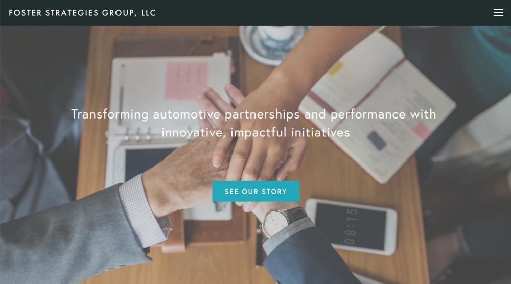 Web Design + Copywriting — Foster Strategies Group