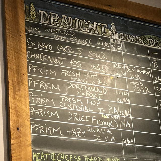 Did ya miss the tap takeover? Lucky for you, we still have some of that delicious @pfriembeer on tap. Fresh hops and all. Get it while it lasts! #craftbeer #oregonbeer #pdxbars