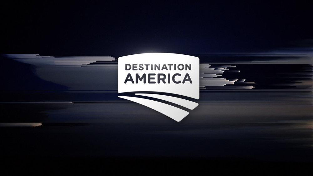 DESTINATION AMERICA    REBRAND