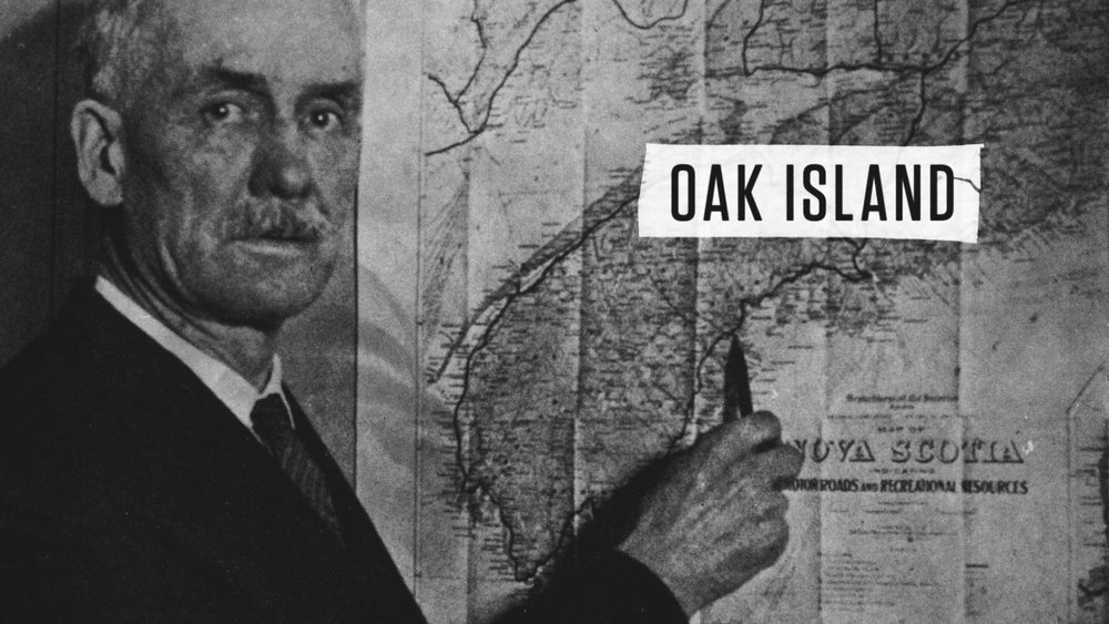 HISTORY    THE CURSE OF OAK ISLAND