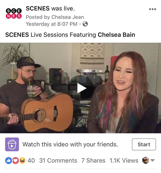 Thank you to @scenesmedia for letting me and @corporate.rock.savant crash your page last night and play some tunes for your Facebook Live Sessions! Go check it out folks😁🤘🏽 • • • • • • #scenesmedia #takeitlikeaman #melissaetheridge #newmusic #facebooklive #saturdaynightmusic