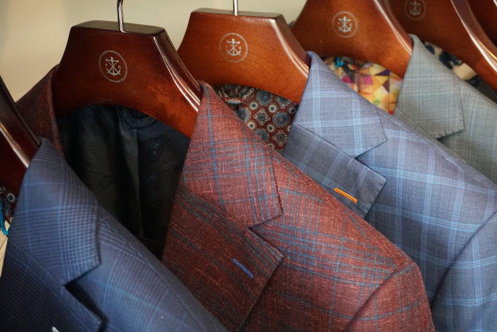 suits on rack blazers utah