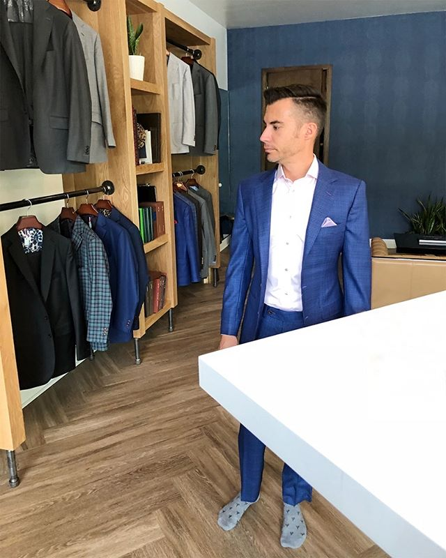 We don't know what's better: picking out the suit or wearing it. . . . #wearityourway #realmenwearsuits #truegentlemansupplyco #suitandtie #suitlife #tailoredsuits #custommademenswear #mensweardaily #mensfashion #dapper #dapperstyle #tailored #custommenswear #customsuits #hellohandsome #lookinggood #gentlemanstyle #gentswear #dresstoimpress #mensclothing #styleformen #suits #custommadesuits #gqstyle #gqinsider #dapperlydone #dresswell #classicman #menswear #menstyle