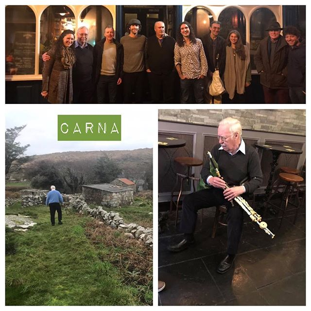 Among the many reasons to see Good Piping is the chance to spend time with the great Seán P. McKiernan in Connemara. Seán is an Irish traditional musician of Carna, County Galway who plays the uilleann pipes. He was named TG4 Traditional Musician of the Year at the Gradam Ceoil of 2010. He came from an Irish speaking family of Boston, but has lived in Ireland since 1965. . But, that's just the Wikipedia entry.... In the film, music and stories pour out of his Carna kitchen, you get to be a fly on the wall in Cork with Seán giving a lesson to a student, playing tunes at a dancehall, on foot in the countryside, and many more memorable moments. . We are nearing the end of our 2nd edition print run!  Get one while you can!  Love to send you a copy (purchase link in bio 👆- shipping worldwide) or schedule a screening at your next tionól!! 🎼🍻
