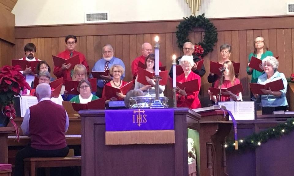 Join Us. - The choir practices every Wednesday at 7:00 p.m. in the sanctuary.