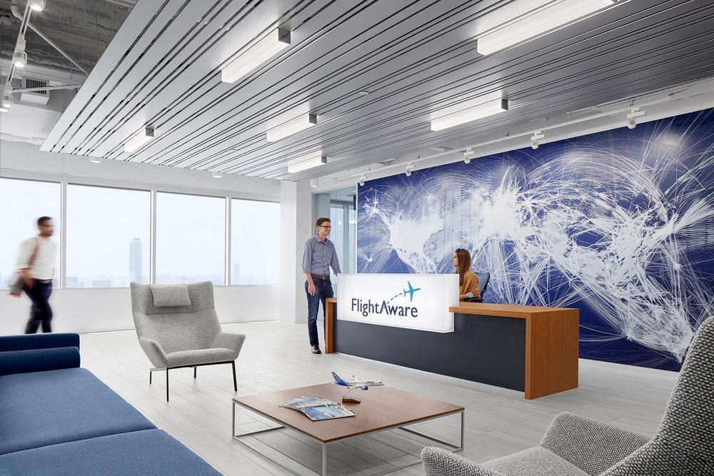 FlightAware   Gensler  Houston, TX  © Jonathan Dean