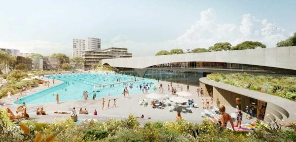 Green Square community pool
