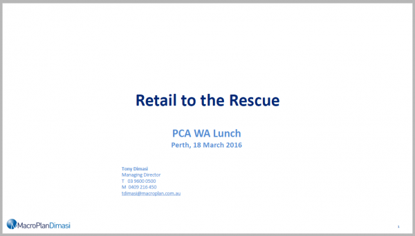 PCA Retail to the Rescue