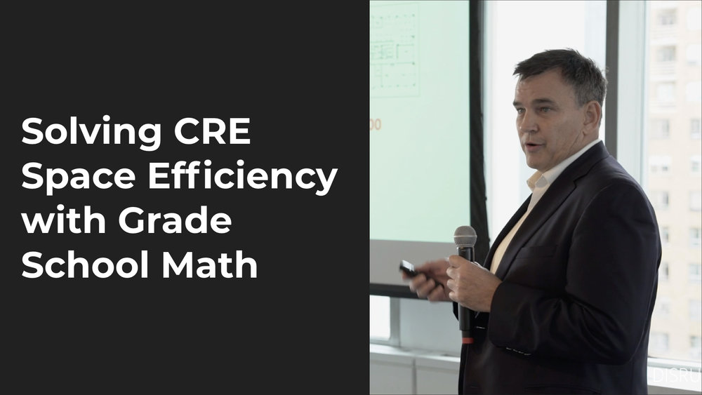 Solving CRE Space Efficiency With Grade School Math   Michael Walker