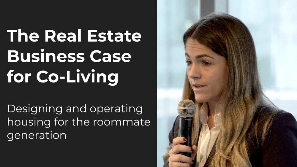 The Real Estate Business Case for Co-Living   Britt Zaffir