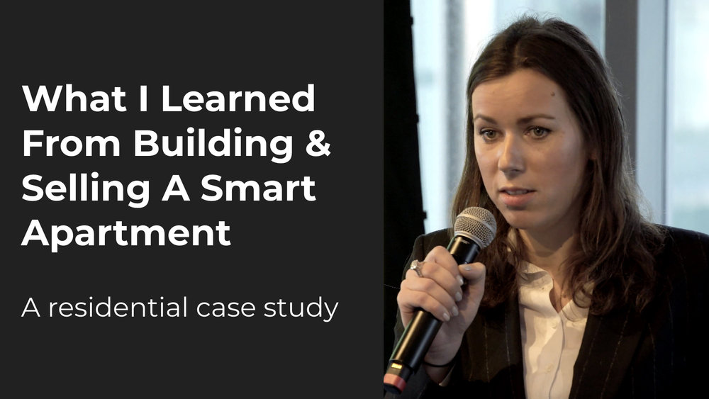 What I Learned from Building & Selling a Smart Apartment   Elena Ashkinazy