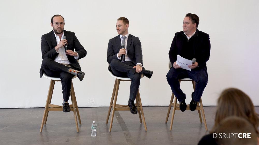 From left to right: Ben Levine, Jacob Entel, & Robert Grosz
