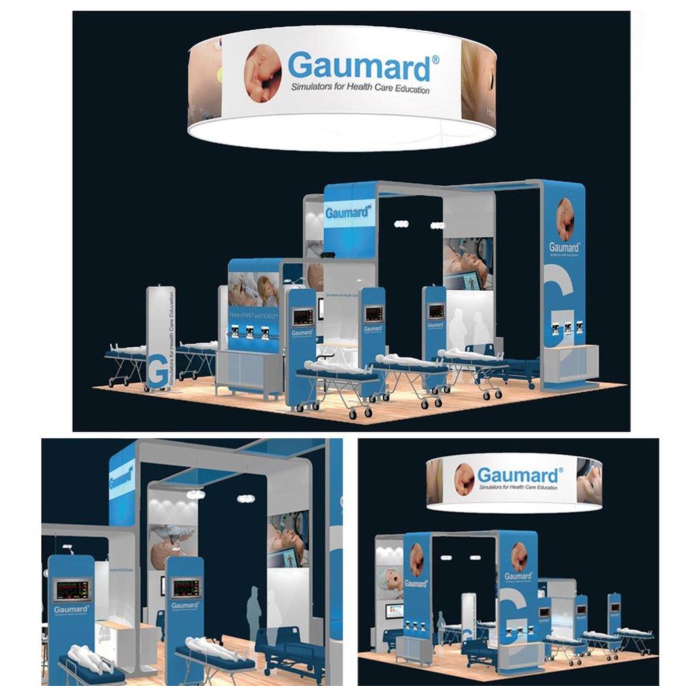Gaumard 30x30 booth