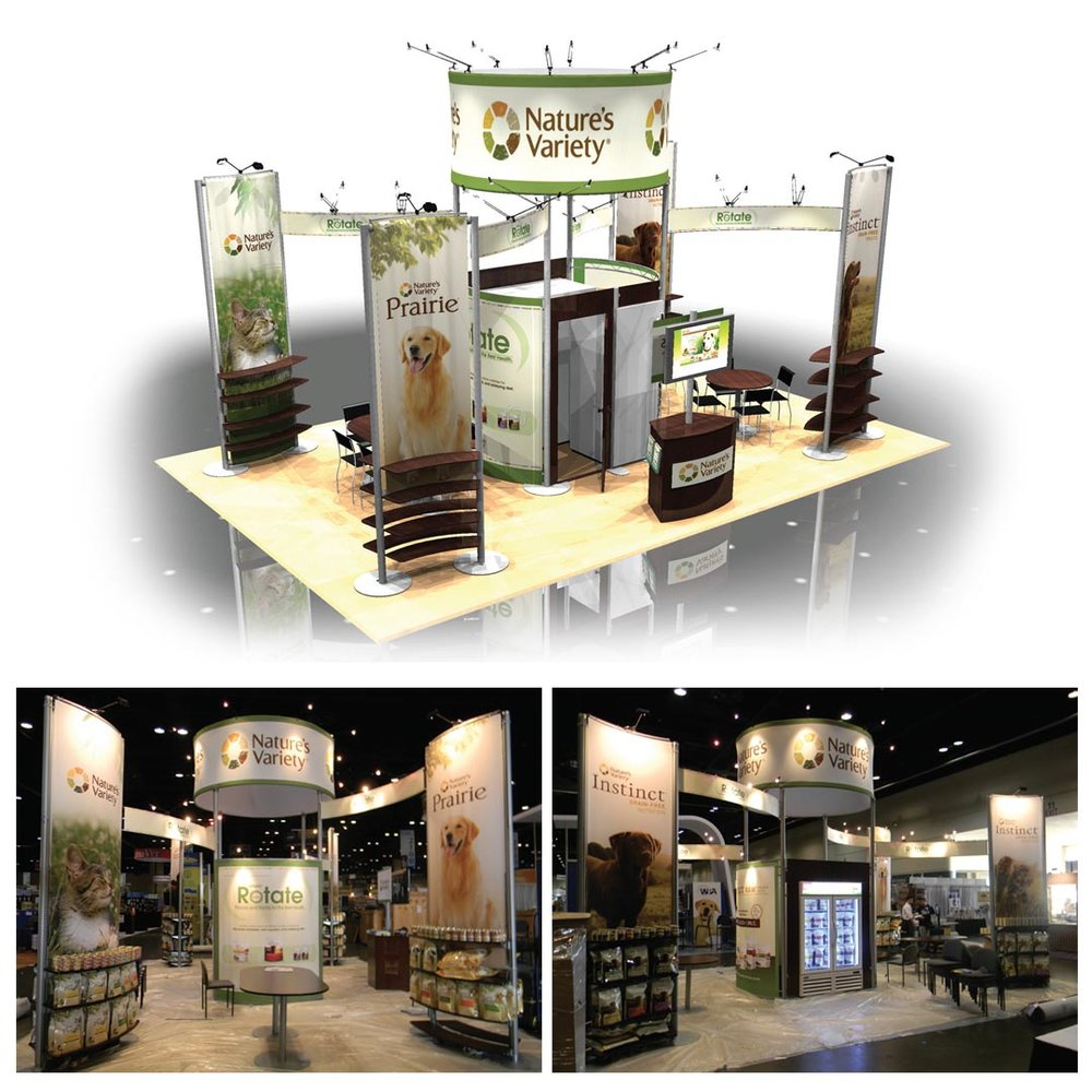 Nature's Variety 20x30 booth