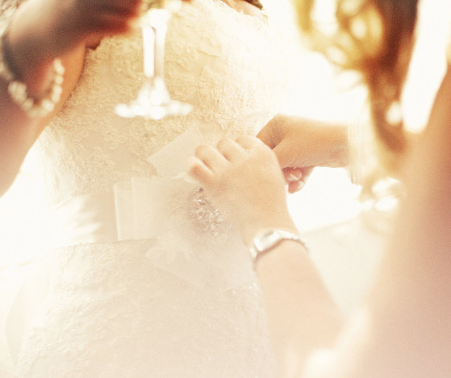 Sun filled detail shot of a Perth bride getting ready for her wedding.