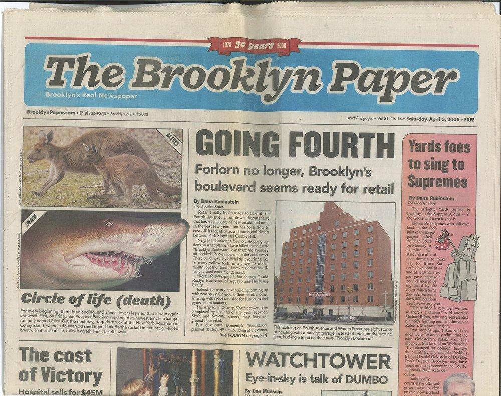 NOVO Condominium in The Brooklyn Paper