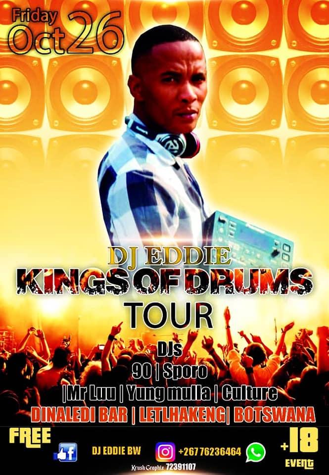 Dj Eddie he is a local dj here in Letlhakeng -