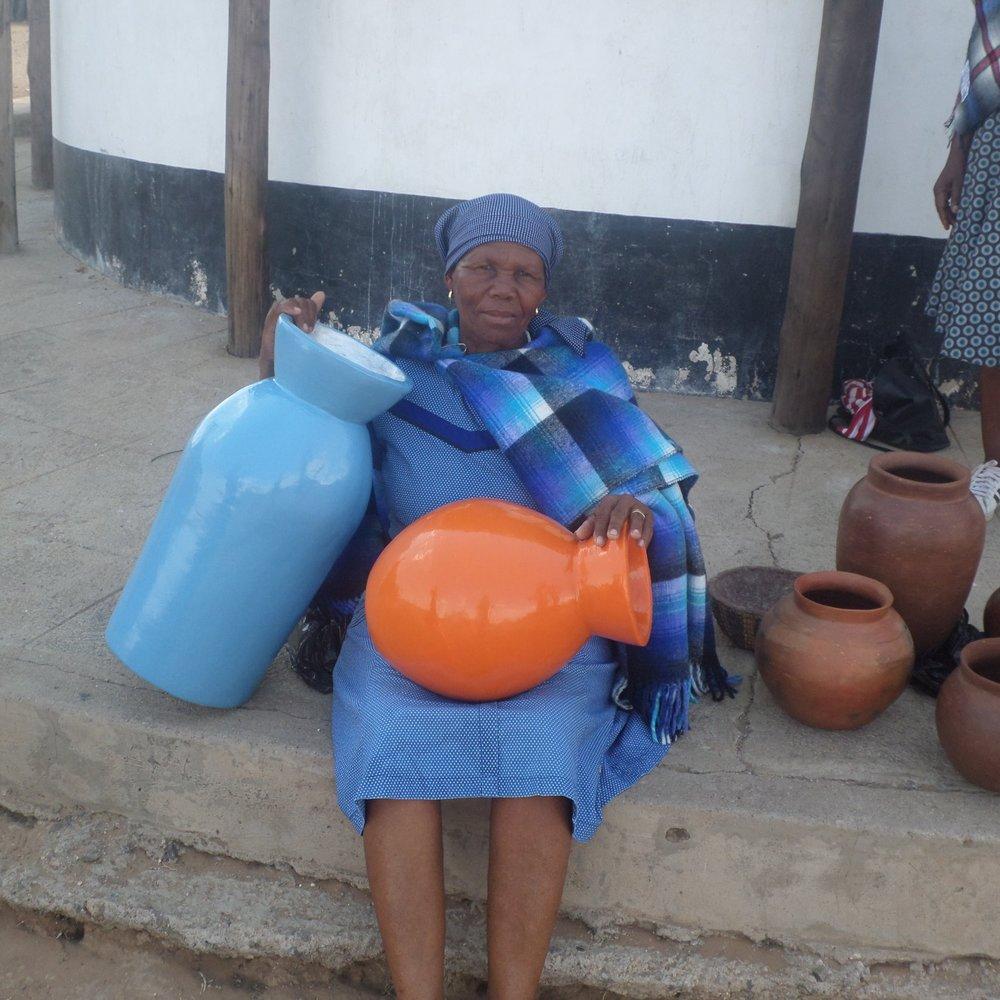 Kebiheleng Mokhowe - Service Description∙ Paper Mache & potteryOpening Hours:-Directions:Mokewle WardContact:📞 (+267) 72 15 92 65✎