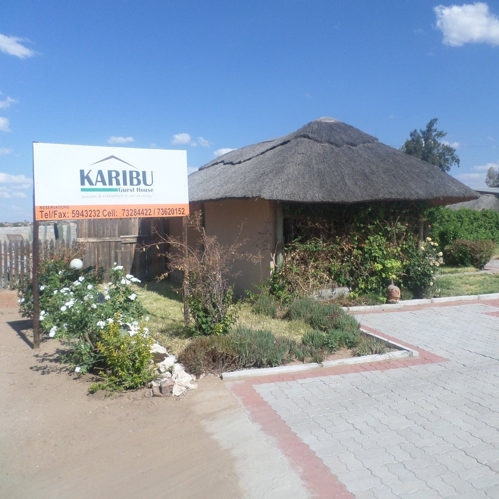 Karibu Lodge - Service Description∙ Opening Hours:Monday - Friday: Saturday: Sunday:Directions:WardContact:📞 (+267) 7x xx xx xx✎