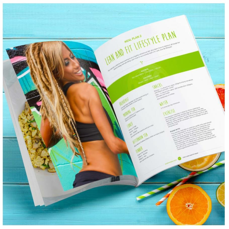 Buy the Vegan Fitness Foods ebook and make your own! - A great way to DIY your meals each and every week!