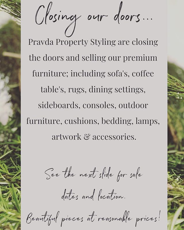 Closing our doors...