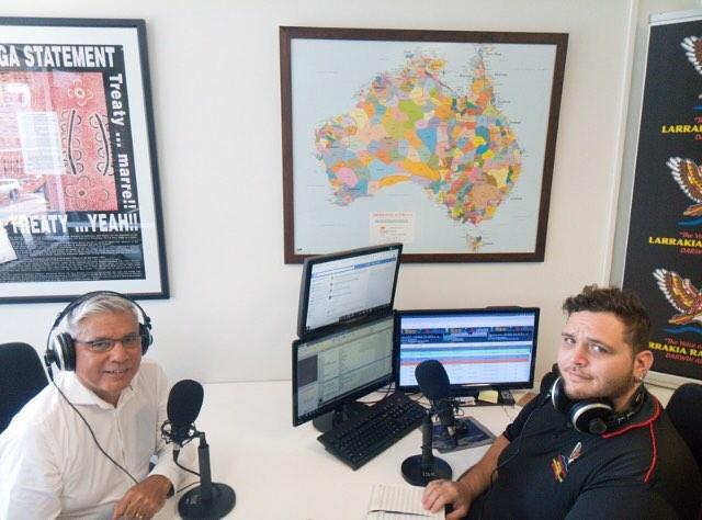 We had the privilege of interviewing Warren Mundine #warrenmundine in the Radio Larrakia studio #radiolarrakia #studio #music #darwin #aboriginal #indigenous #leadership #northernterritory