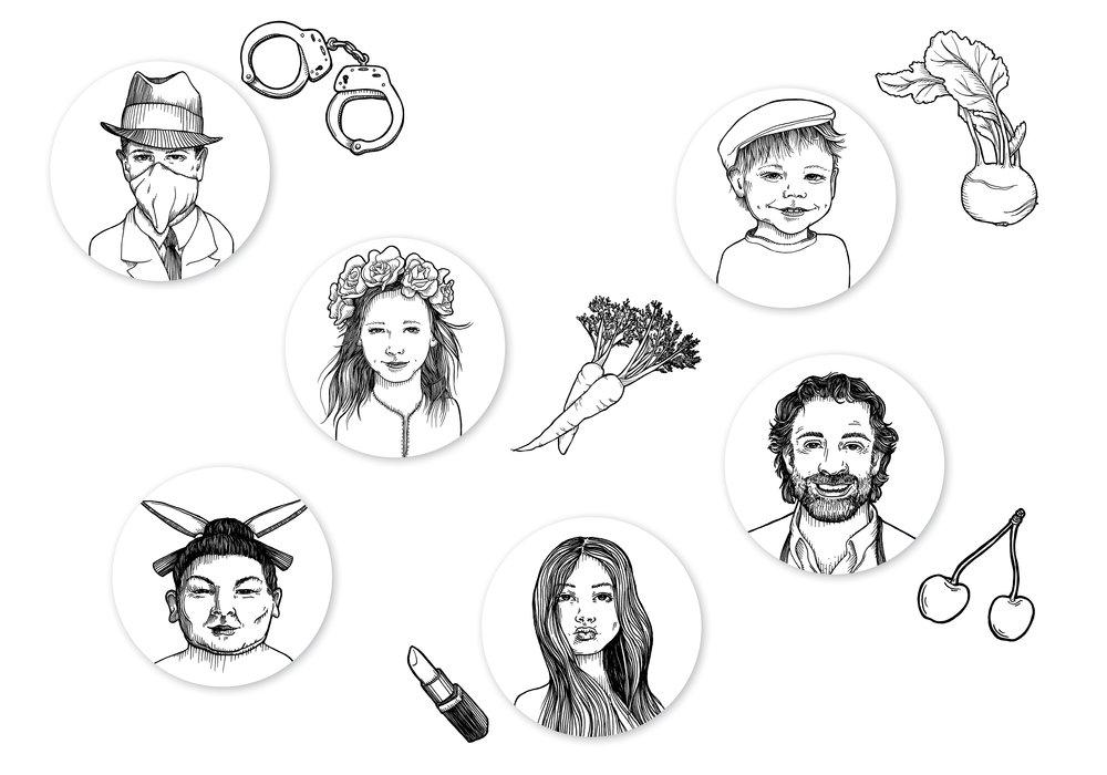 Just Spices: Porträts und Accessoires