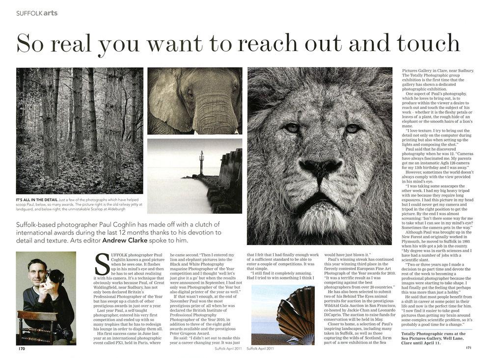 Suffolk Magazine article Apr 2011, BIPP PotY 2010, 2-page interview (A. Clarke).jpg