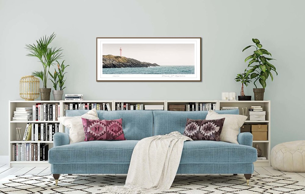 Cape Forchu in Nova Scotia, Atlantic Canada. Limited edition seascapes by fine art photographer Paul Coghlin.