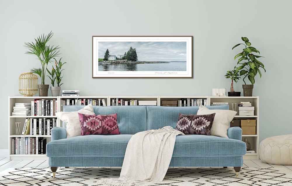 Atlantic Canadian seascape - Green Bay in Nova Scotia, Canada. Limited edition seascapes by fine art photographer Paul Coghlin.